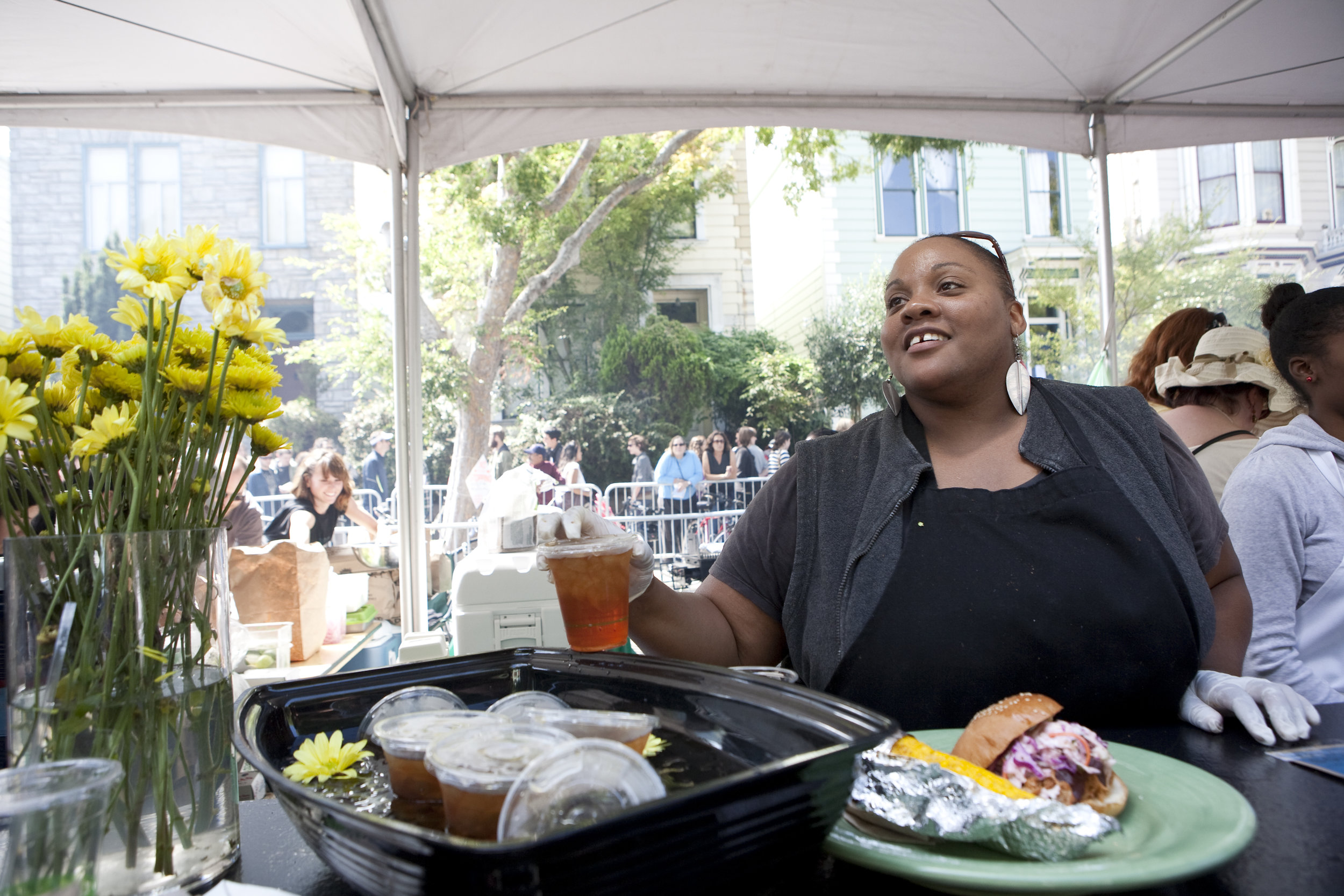 Chef Dionne Knox of Zella's Soulful Kitchen