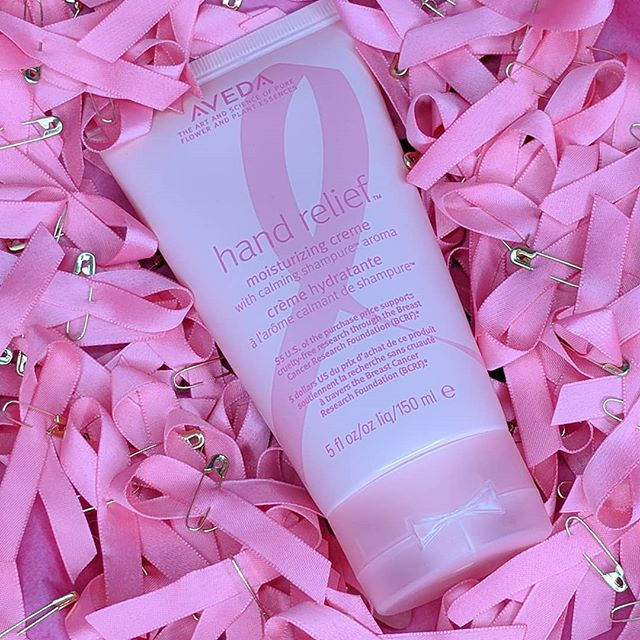 Give research a hand 🙌💟 Purchase our limited-edition hand relief with shampure aroma. $5 supports cruelty-free breast cancer research!  #westendhairco #westendhair #breastcancer #breastcancerawareness #pink #pinkribbon #aveda #avedapink #avedagoespink #giveresearchahand #breastcancermonth #cancerresearch #findacure