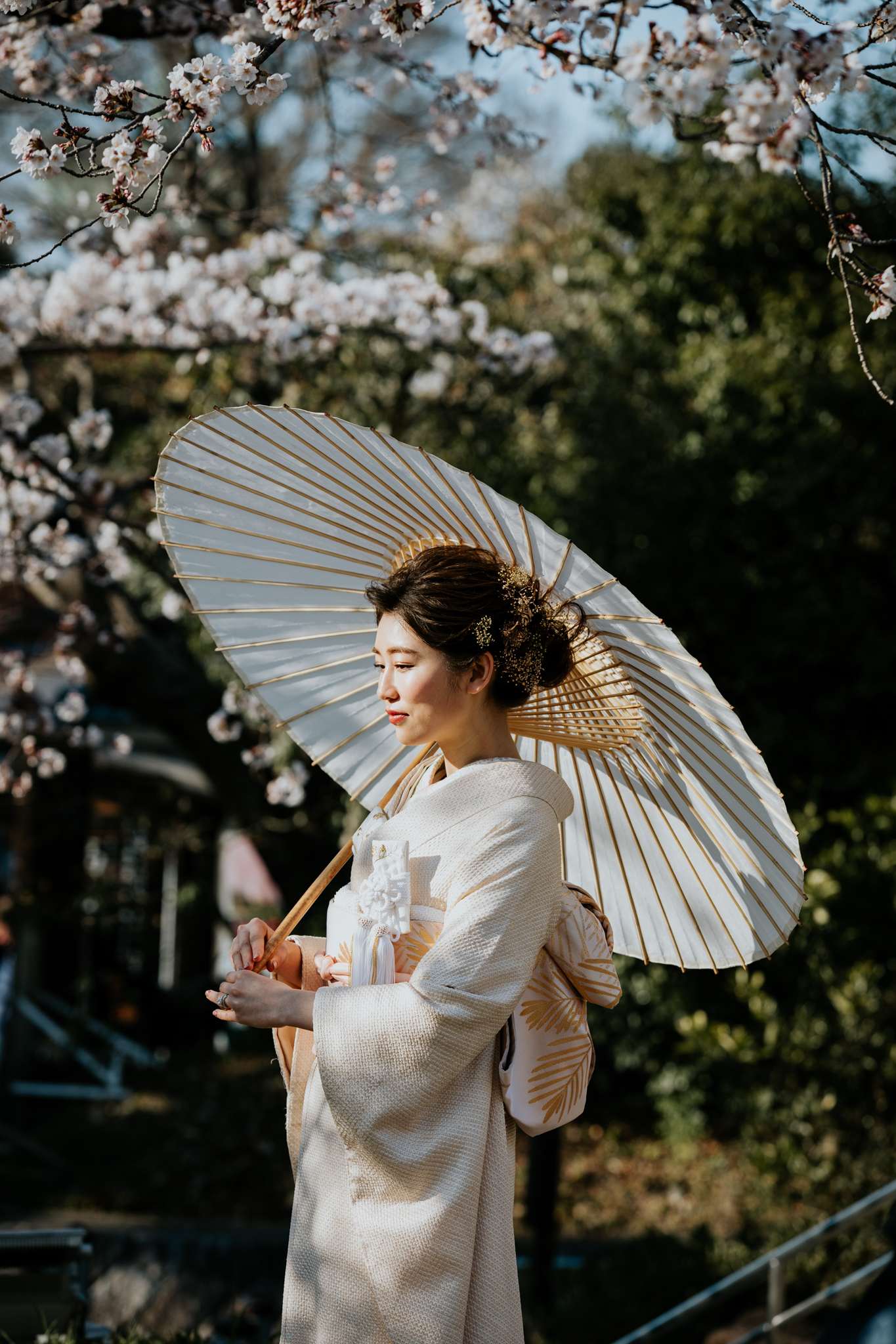 This woman was absolutely captivating; pure elegance. I love the traditional kimono (着物, きもの) she's wearing too.