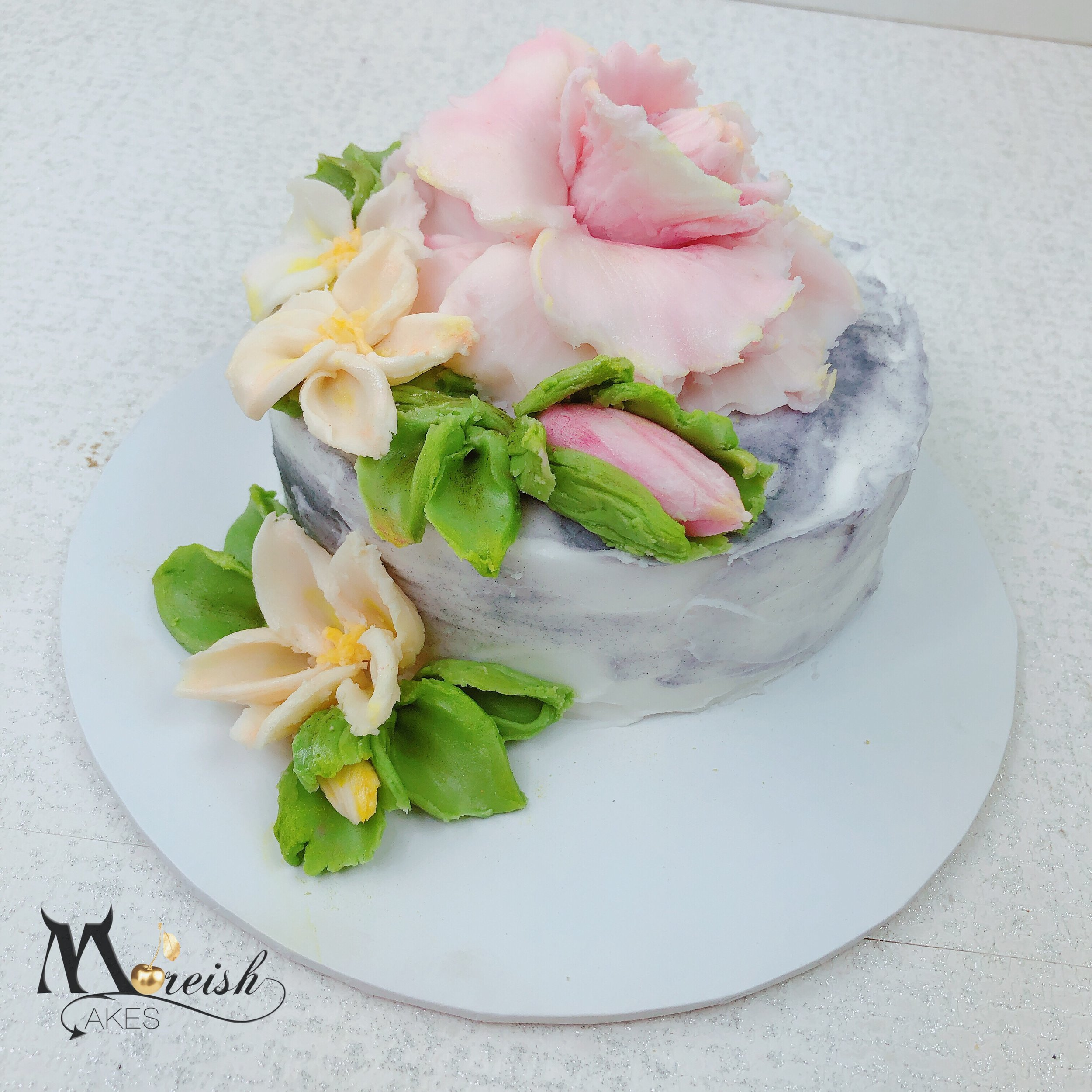Canberra - Sculptured Palette Knife Buttercream Flowers Cake Class - Cake  Decorating Solutions