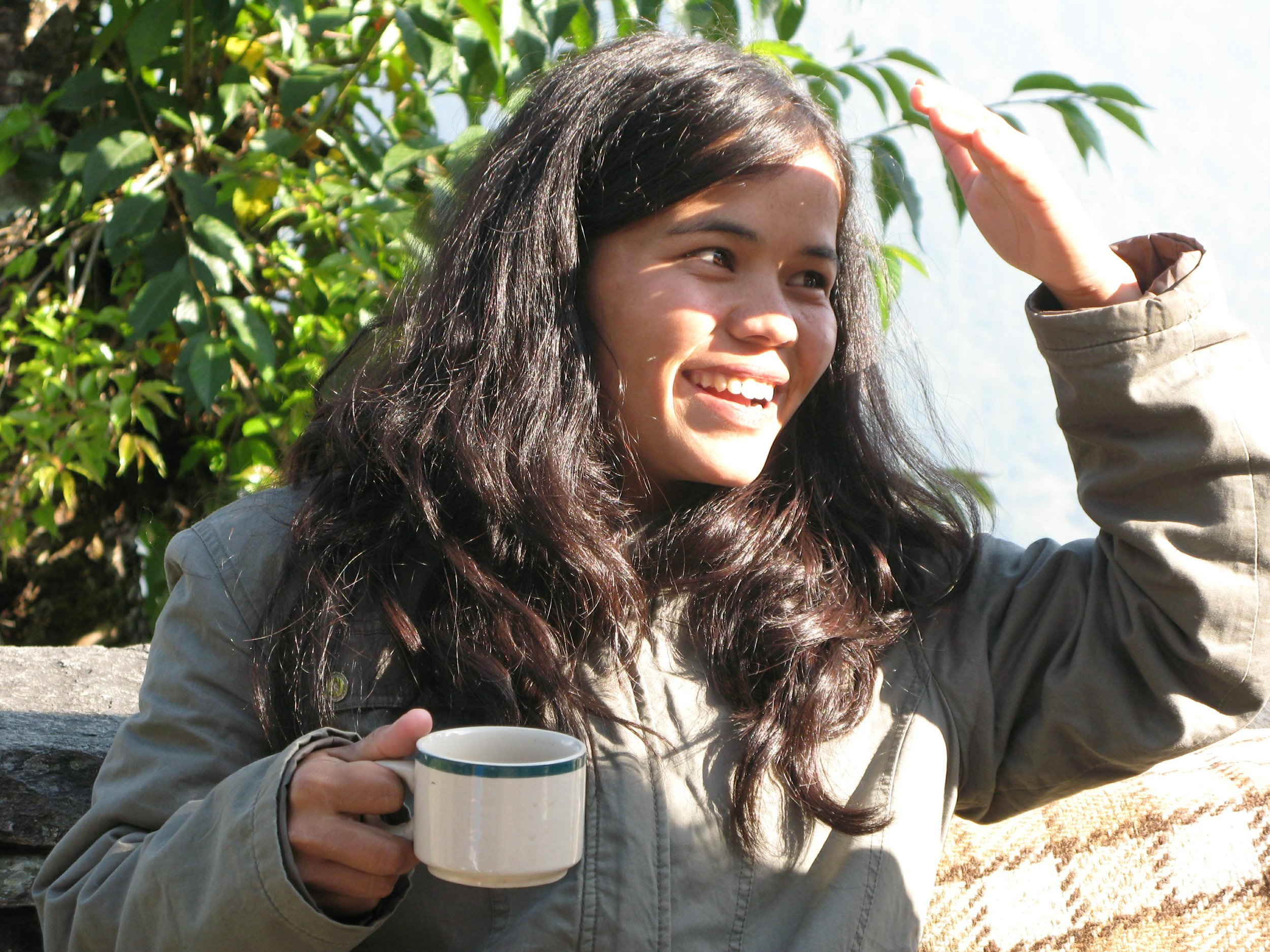 great independent female trekking guide pokhara