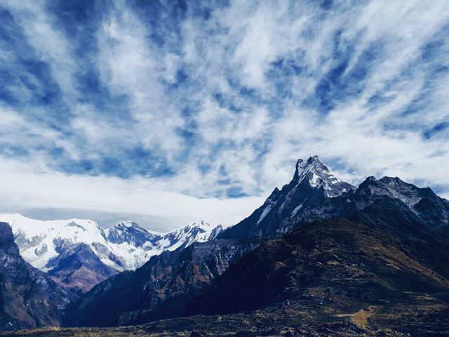 Captured by our guide Raju in Mardi Himal #mardihimal #trekking #himalayas #nepal