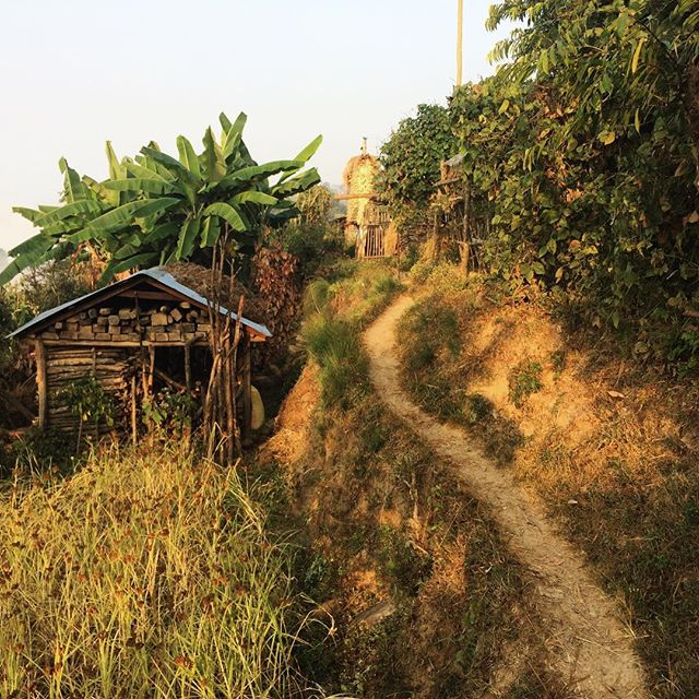 The Millennium trek is just outside Pokhara. Each night you stay with local families in different villages. Compared to tea house trekking, it's a completely different insight into Nepal. Thanks to our guide Kumar, for taking us to where he grew up. #offthebeatentrack #trekking #pokhara  #nepal