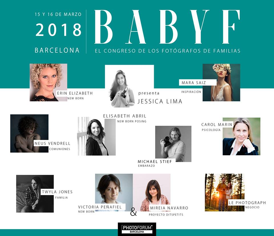 Family Photographers Conference in Barcelona