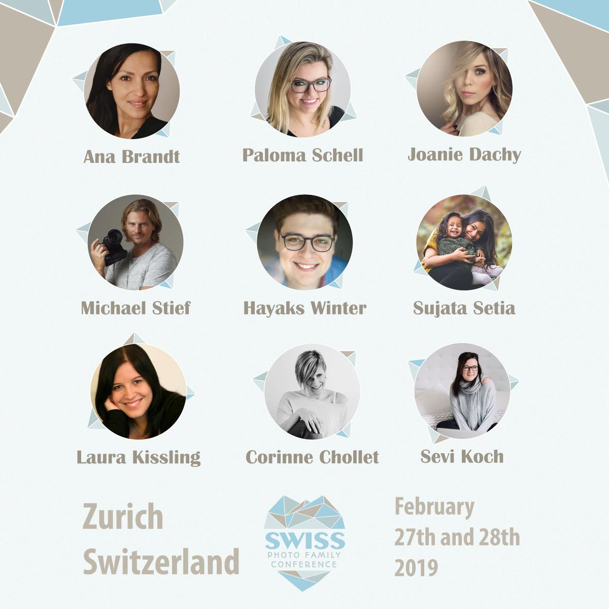 Family Photography Conference in Switzerland