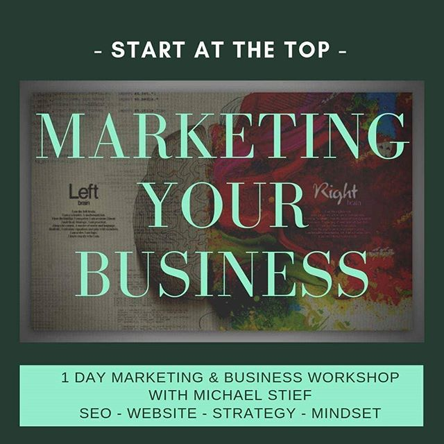 Ok, I am doing this now!  I am helping you with your marketing and your business. Lets do these Workshops in October 2019....let me know what citys I should do...THIS IS FOR EUROPE ONLY!!
