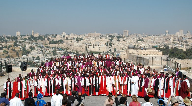 'GAFCON' stands for  G lobal  A nglican  F uture  Con ference.