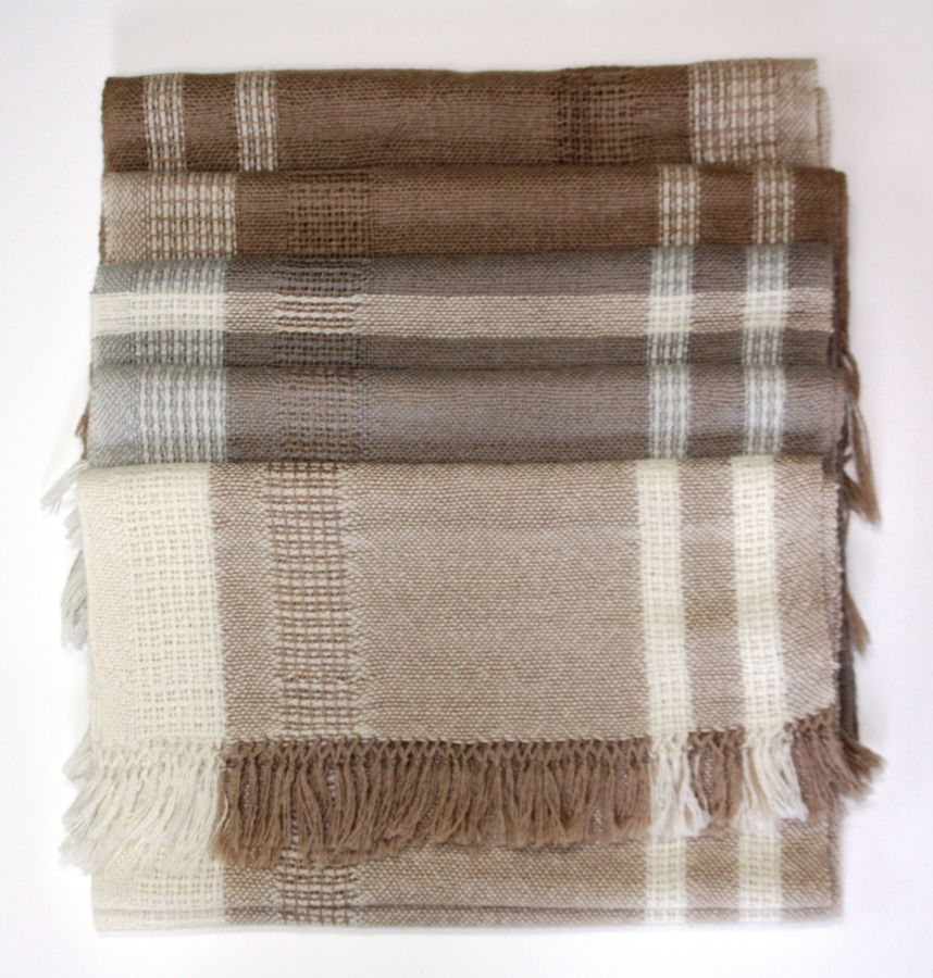 Alpaca and Silk Scarves/Shawls - large, soft and luxurious!