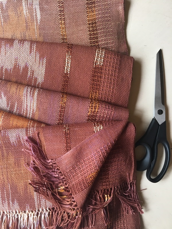 Lots of Ikat Scarves and Shawls available. Check out my blog for info on Ikat technique