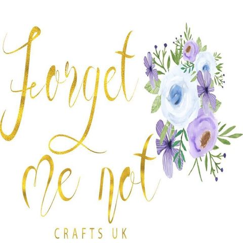 Forget me not crafts logo