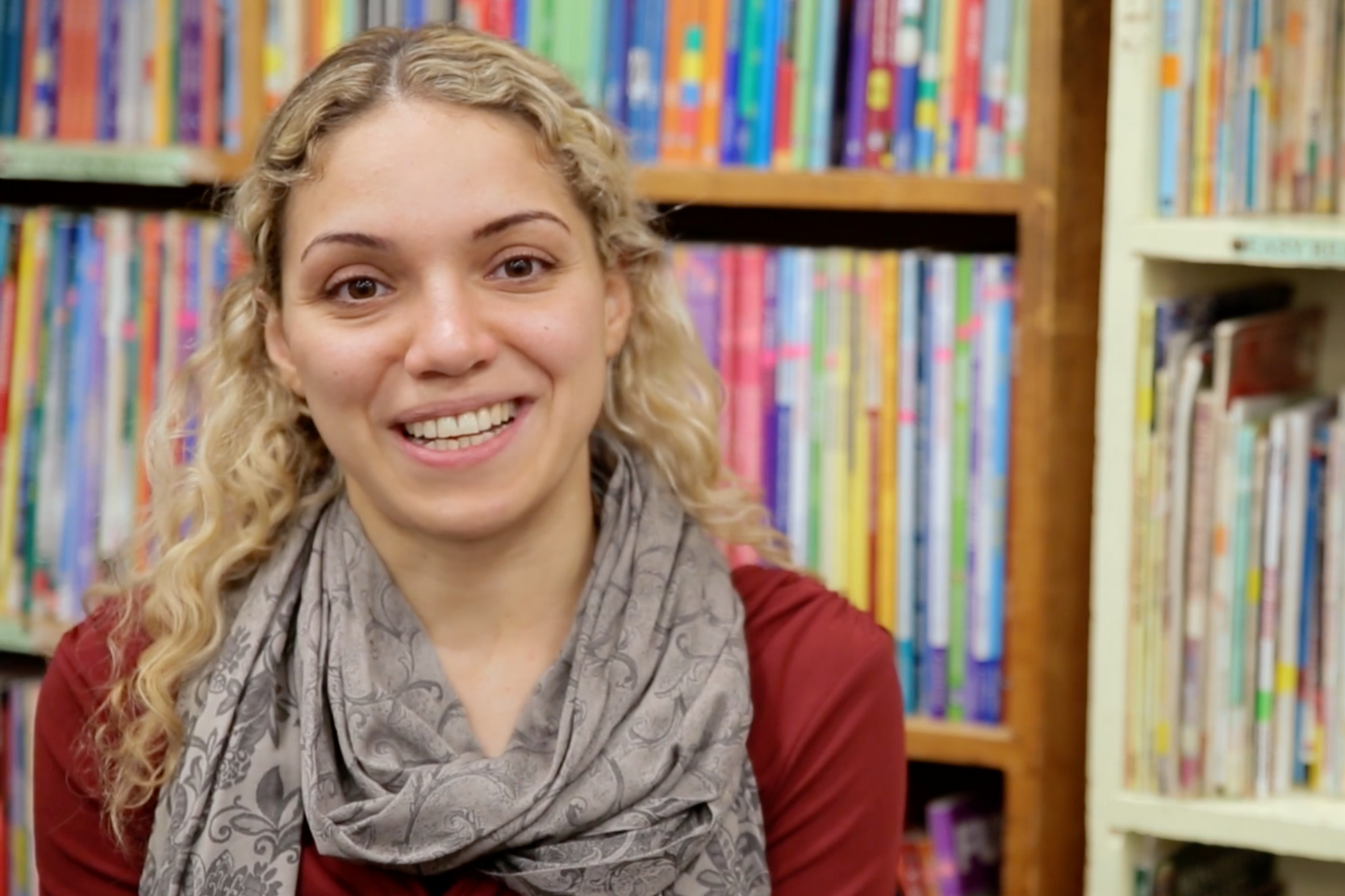 """People tell me: ""You've been here for a year and half and you speak this way? That's unbelievable!"" and I say that it's because I studied at Riverside!""  – Ahed"