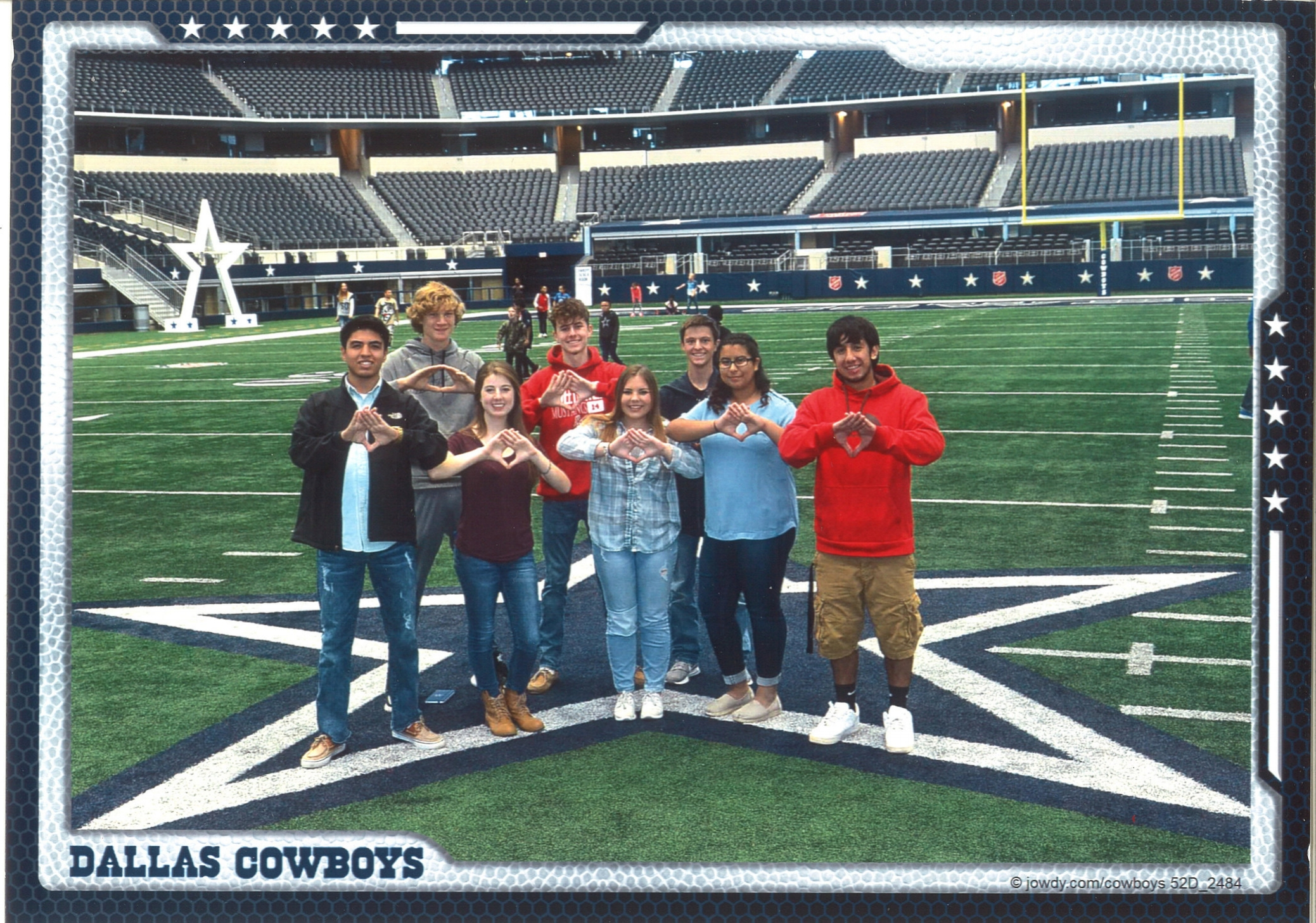 Sweetwater HS DECA Enjoys DECA Day with the Dallas Cowboys