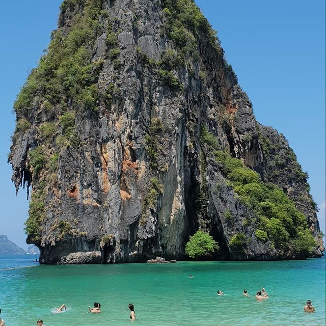 We also love #railaybeach A LOT #krabi #thailand #longweekend