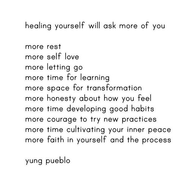 Trust. Soften. Let go.  @yung_pueblo #heal #love #sacred #faith #live #gently