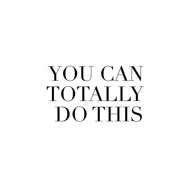 Whatever it is, you've totally got this. So go. And trust yourself.