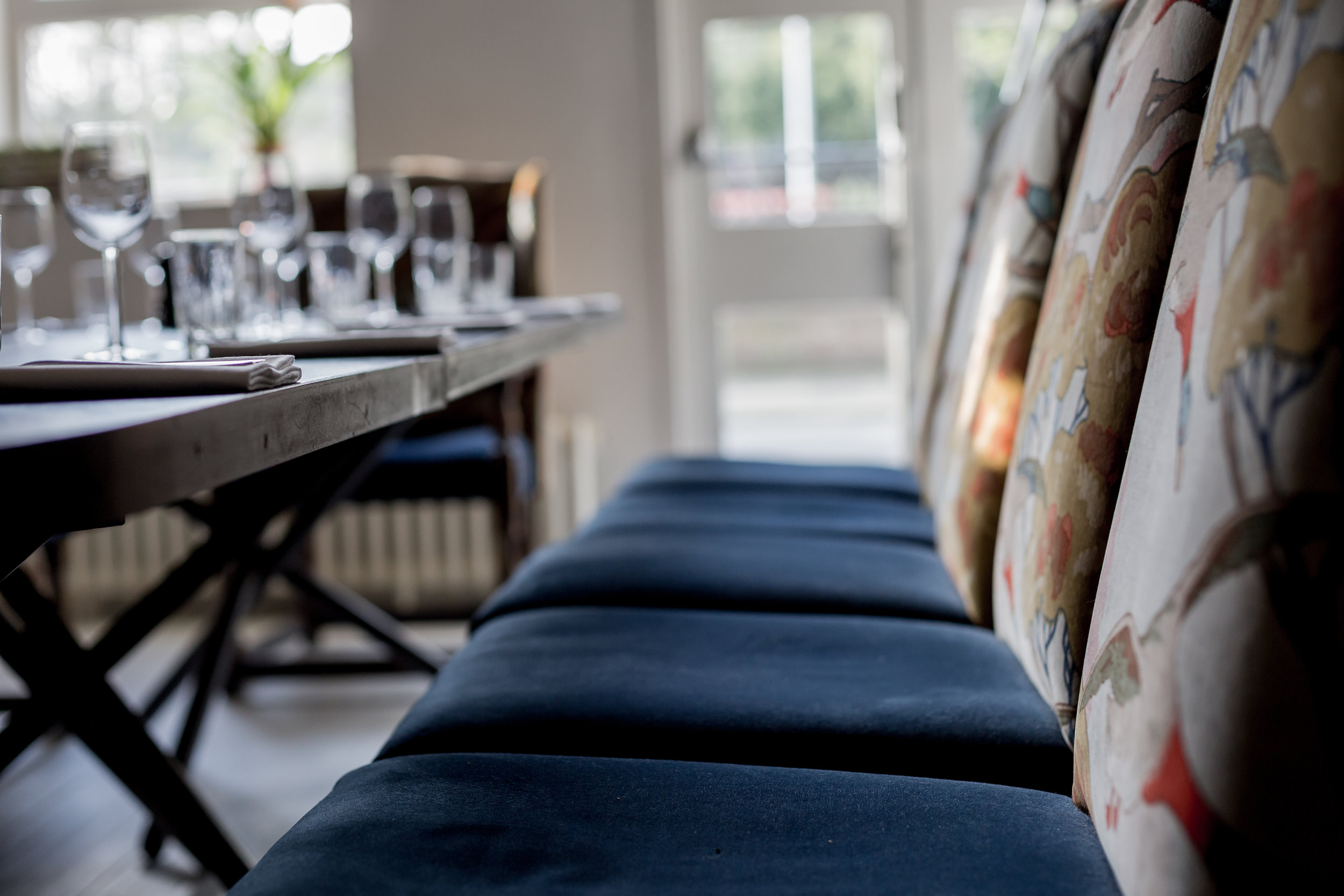 PRIVATE dining ROOMS -