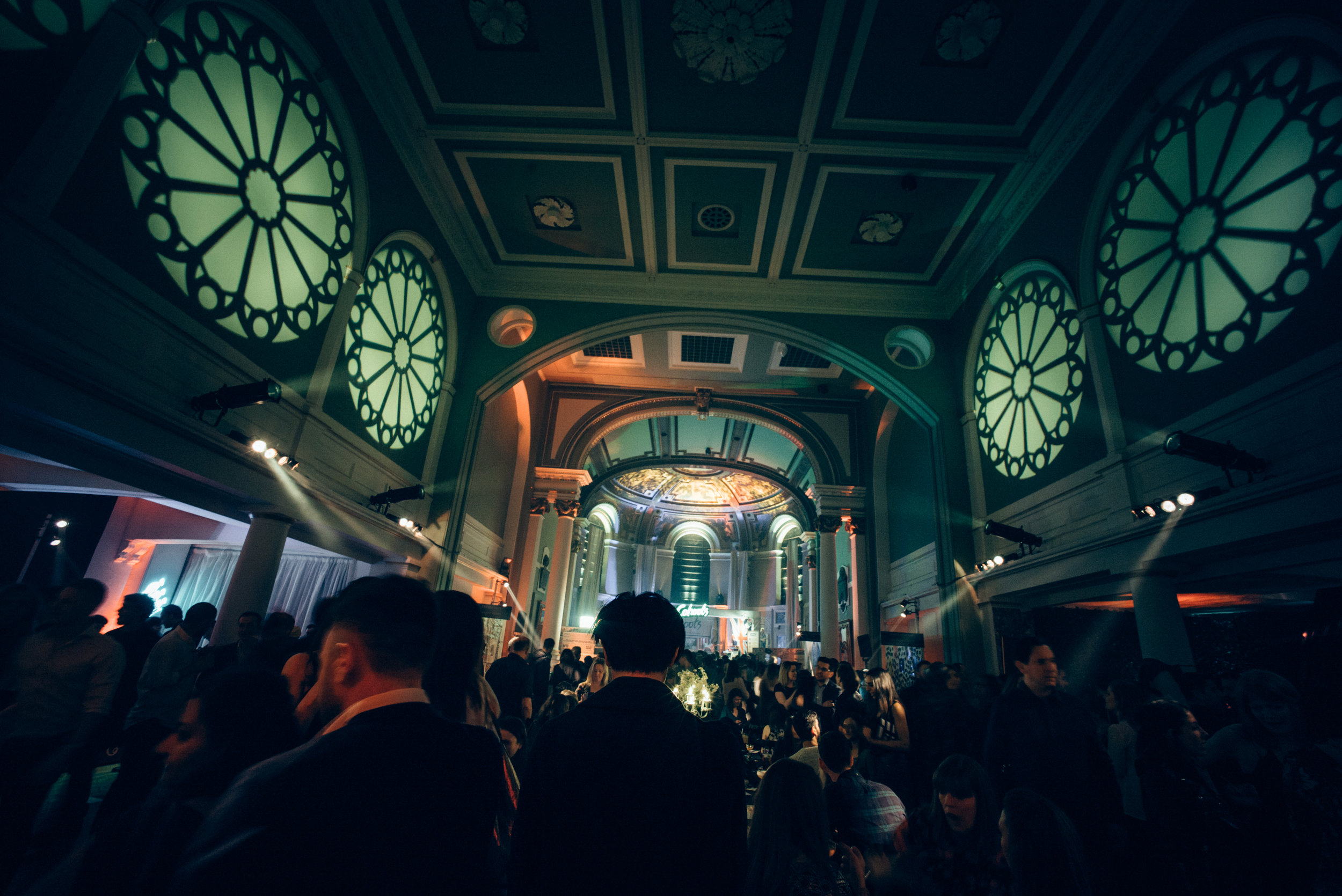 PARTIES IN THE CRYPT -