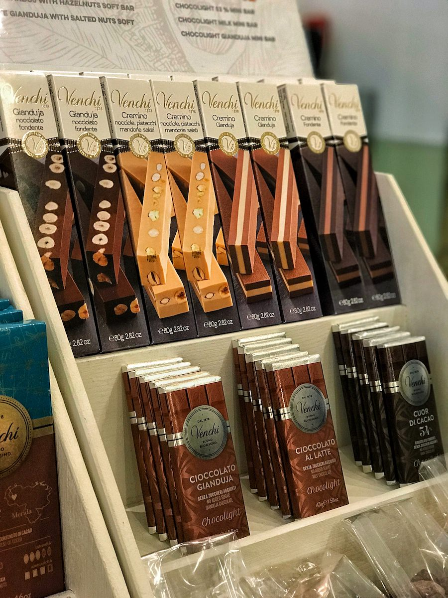 We've got a delicious selection of chocolates available at Emma La Dolce
