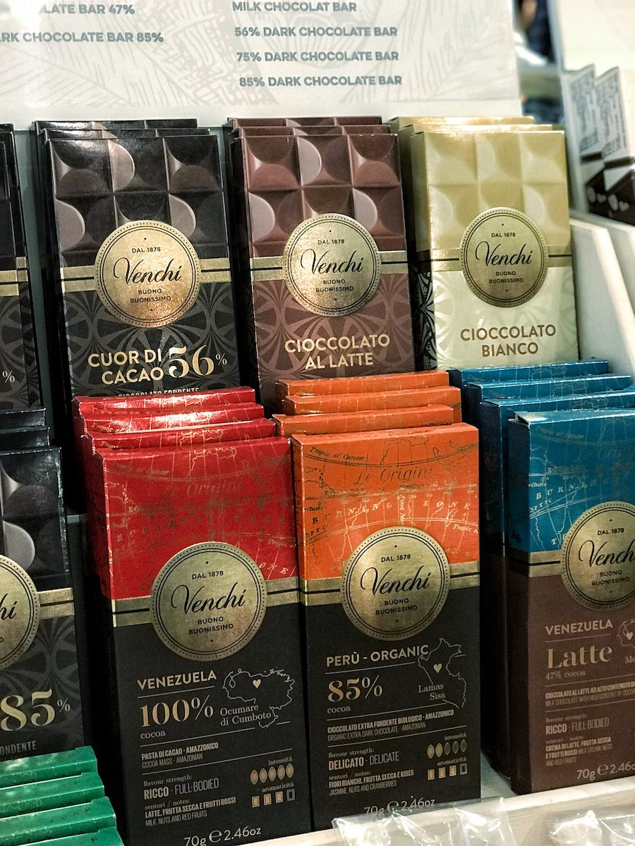 Single-origin Venchi chocolates bring you closer to the highest quality natural and organic ingredients