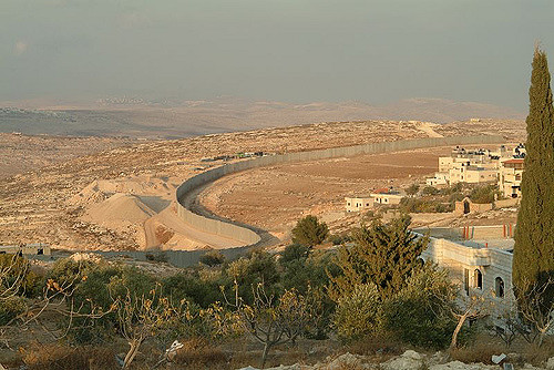 SEPARATION wall between israel and palestine