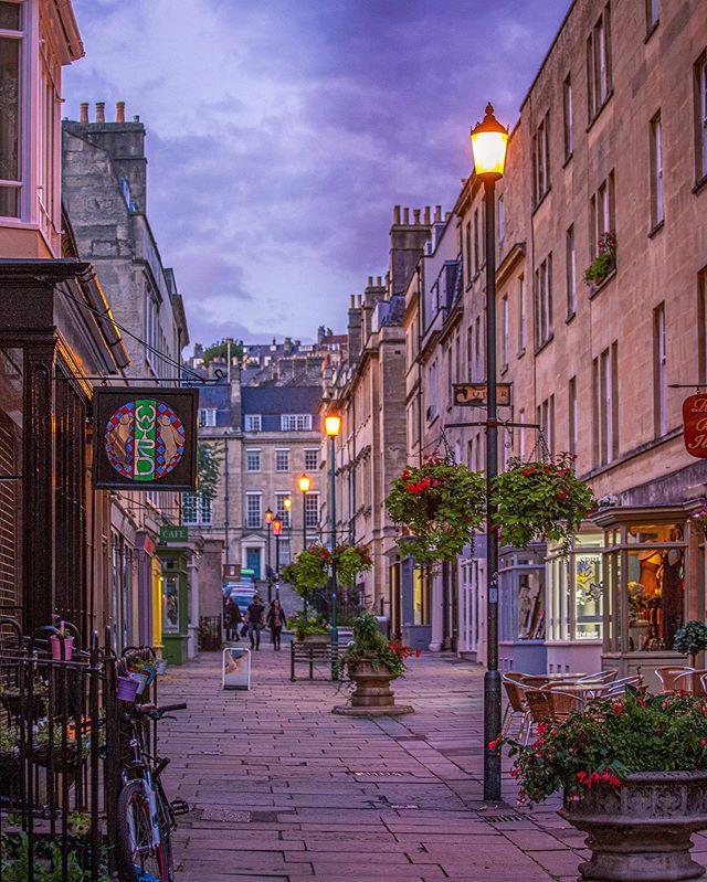 Evening walks in Bath...