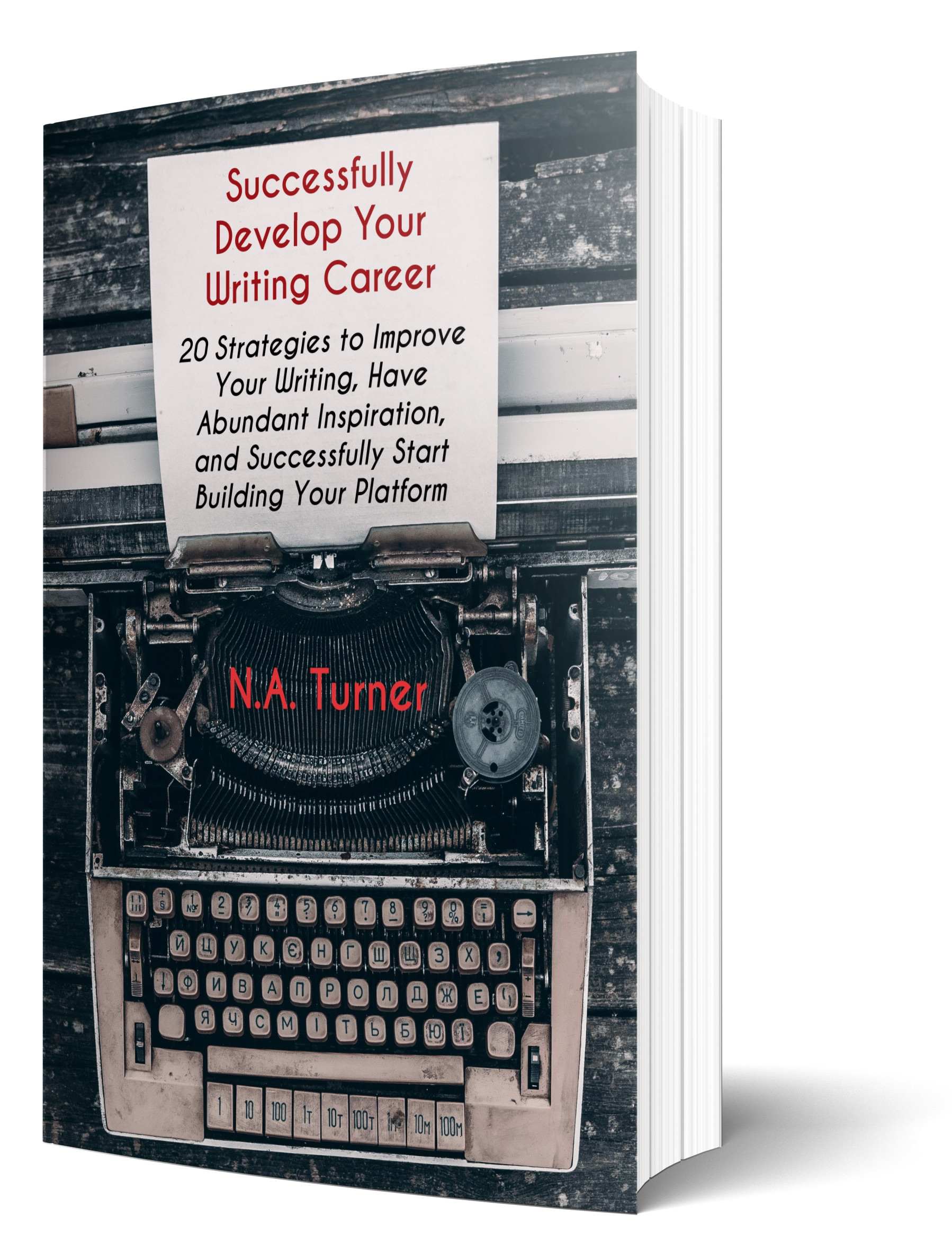 Successfully Develop Your Writing Career eBook