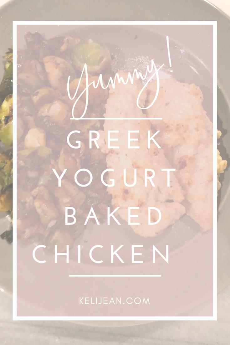 Greek Yogurt Chicken