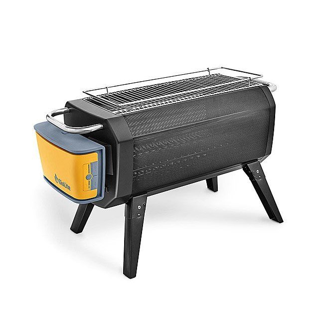Smokeless Portable Fire Pit & Grill