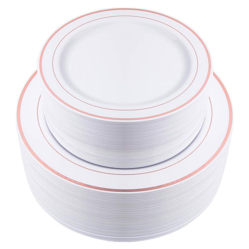 Plastic Plate Set