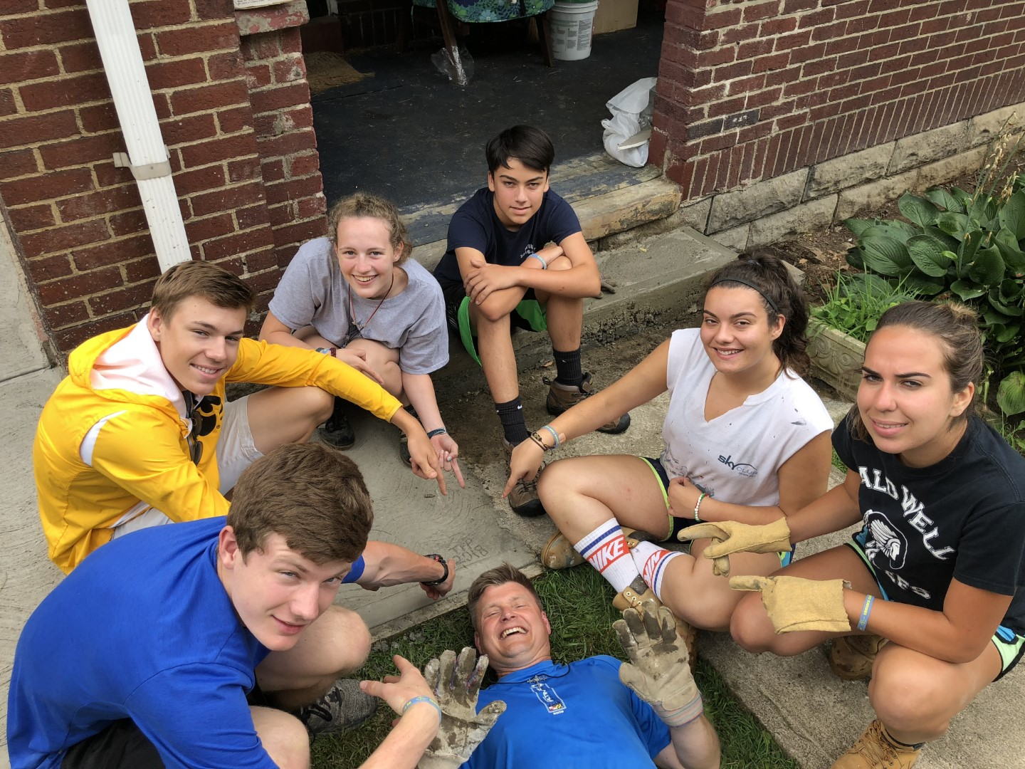 summer service camps -
