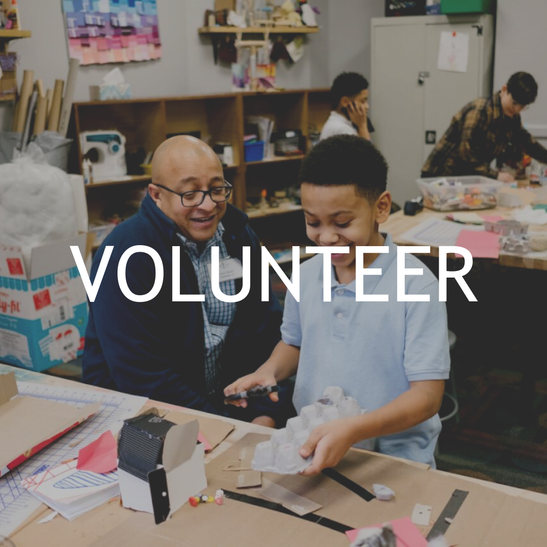 Learn more about how to spark creativity by volunteering in the DREAMlab today.