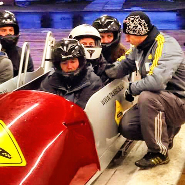 #116: olympic bobsled run -