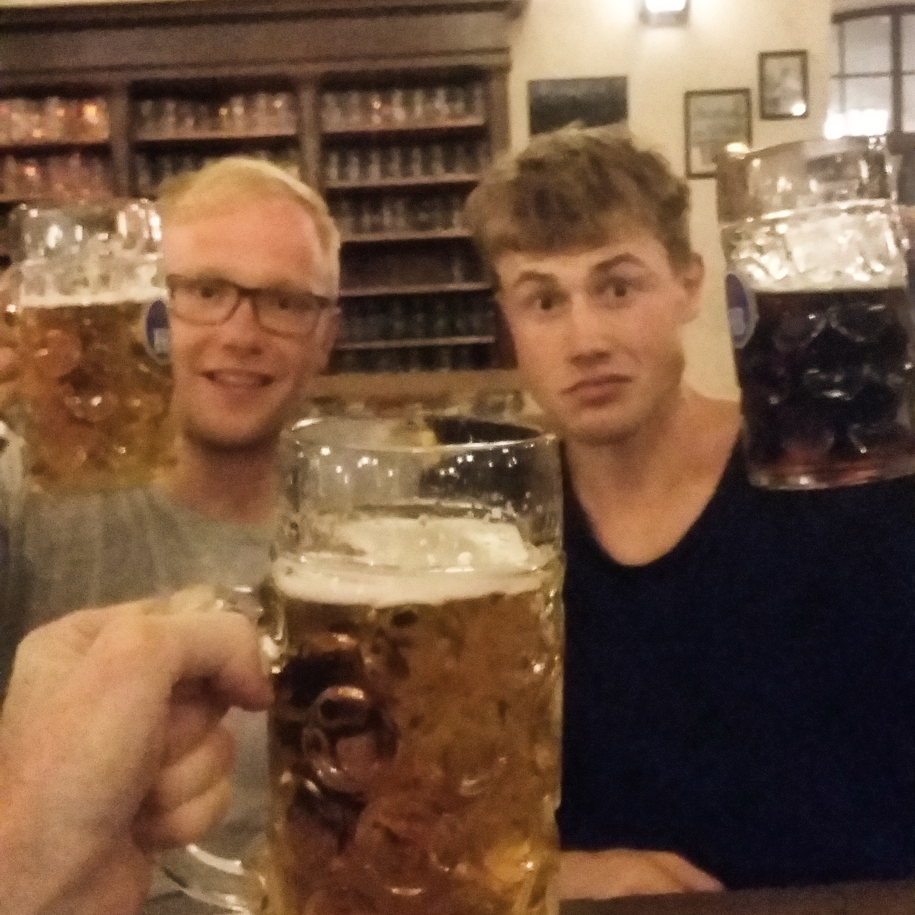 #28: drink steins of beer in bavaria -