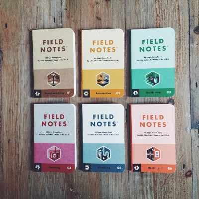 My latest shipment of Field Notes: Summer 2015, Workshop Companion