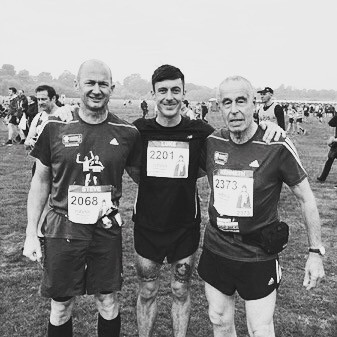 Post-Chester Marathon, September 2015