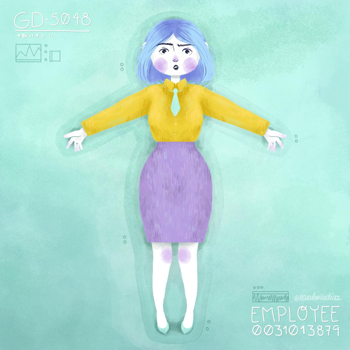 16. The eternal employee