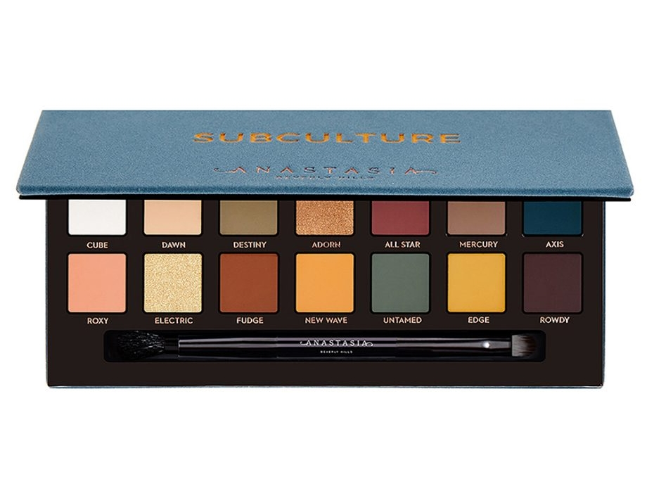 anastasia subculture palette [review] -