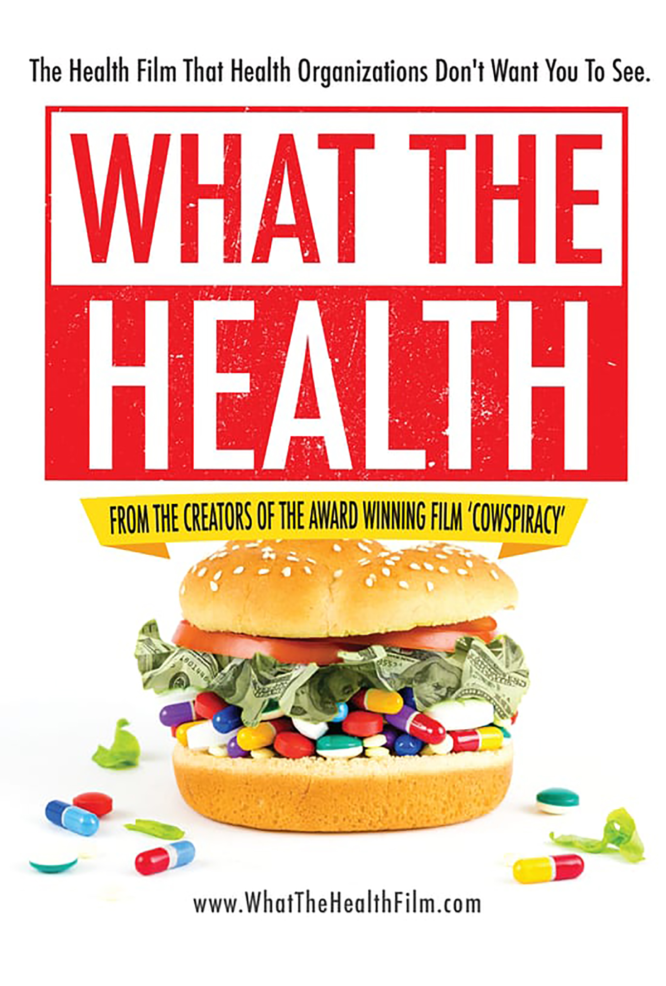 The film exposes the collusion and corruption in government and big business that is costing us trillions of healthcare dollars, and keeping us sick. What The Health is a surprising, and at times hilarious, investigative documentary that will be an eye-opener for everyone concerned about our nation's health and how big business influences it.