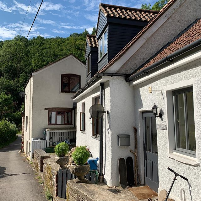 #WANA gone international! Looking forward to designing a new loft conversion on this property surveyed today in #tintern #wyevalley