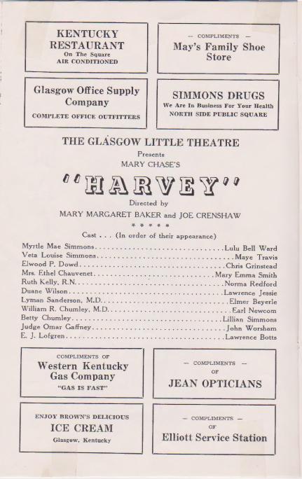 """""""Harvey"""" Inside Program"""