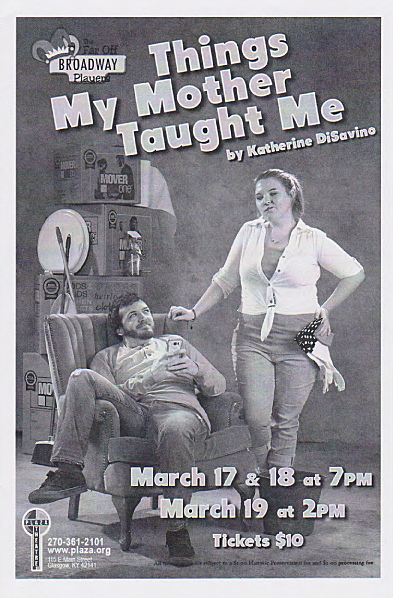 Things My Mother Taught Me Program Cover copy.jpg