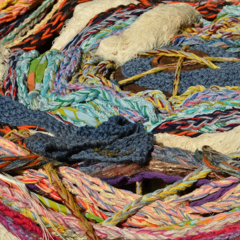 Textile Art Rediscovered on Wednesday July 31st from 4-5:30pm - Textile arts are often not a common medium explored in art education. In this workshops participant will explore fibers, fabrics, dyeing process, and several weaving and sewing techniques. No artistic skill required.