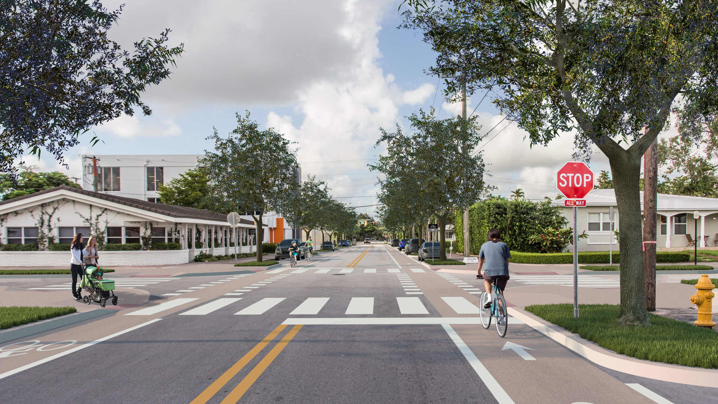 Conventional Bike Lanes (Long Term)