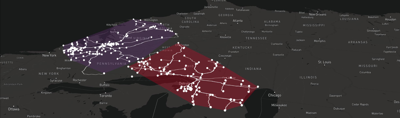 LLamasoft:  Building a Map