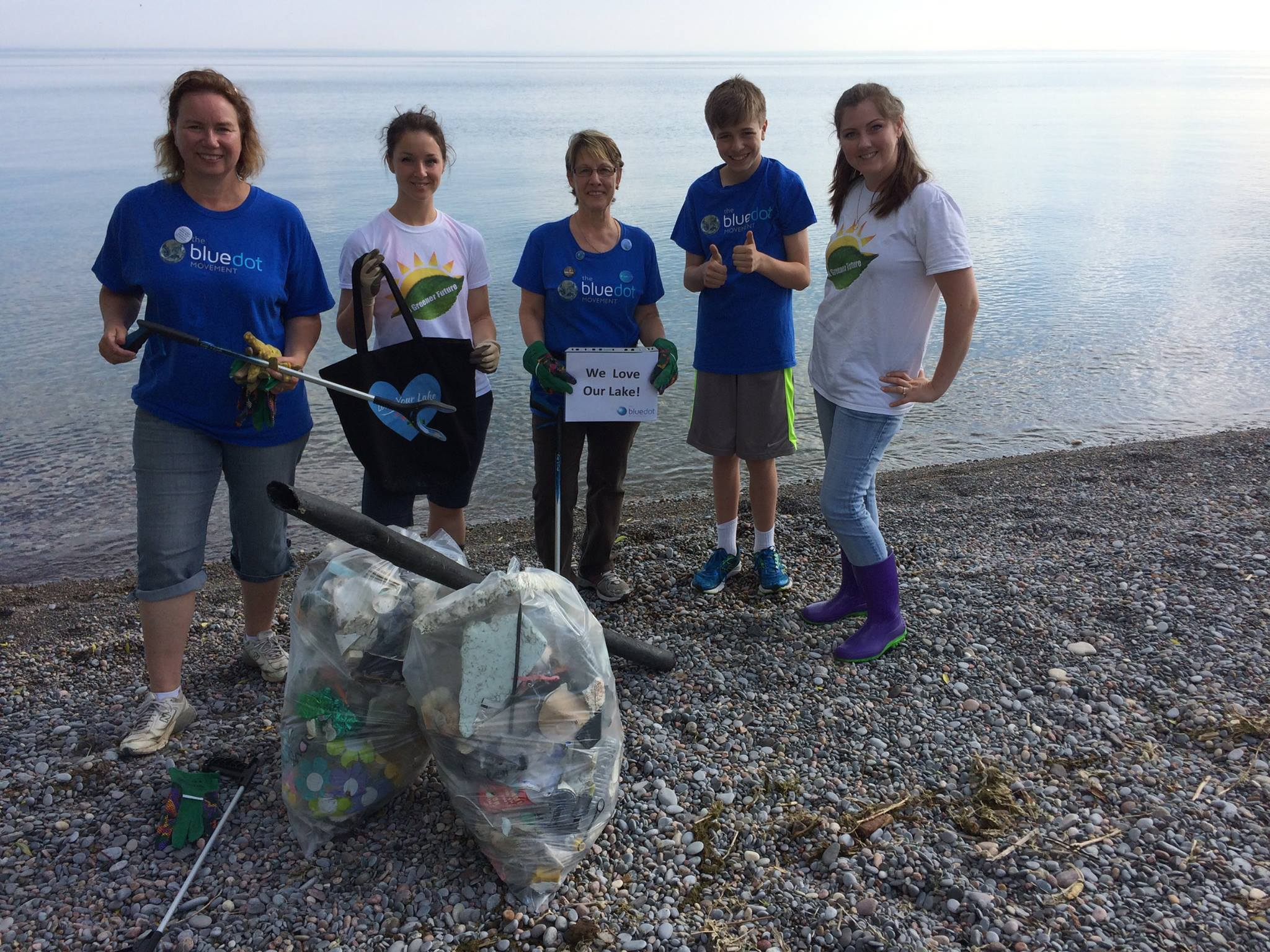 Thank you to the Whitby Blue Dot Group for joining us for a cleanup two years in a row!