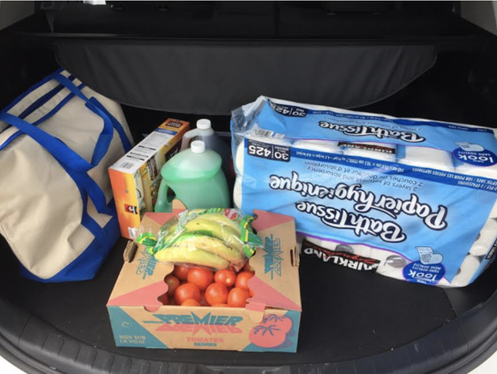 Our haul from Costco.