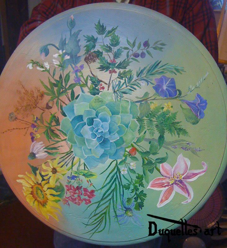 Botanical Table