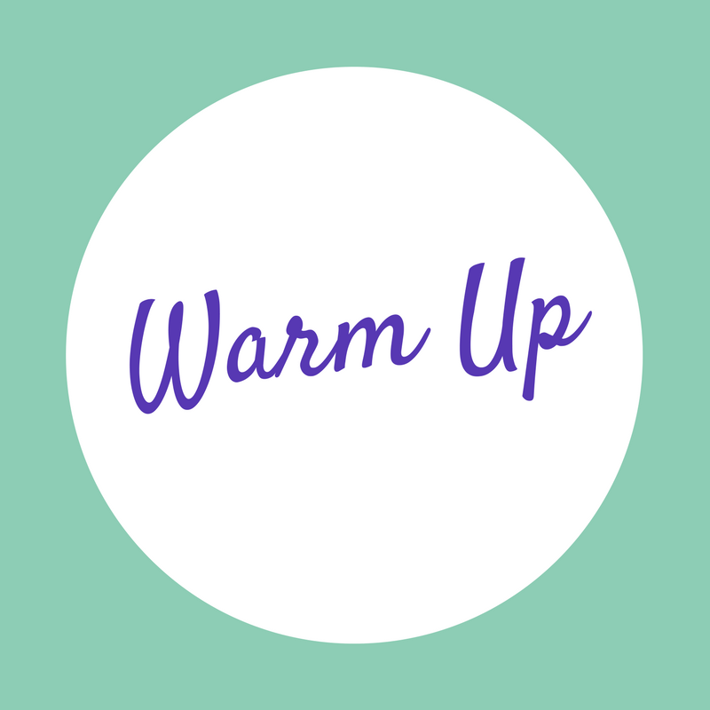 Maybe? - If you're into warmups or have time, here's a very general one that is safe for any stage of pregnancy or postpartum. If you're like me and feel like life is your warmup, skip it.