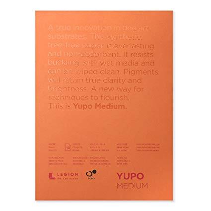 Yupo Paper - 5x7 (10 Sheets) -