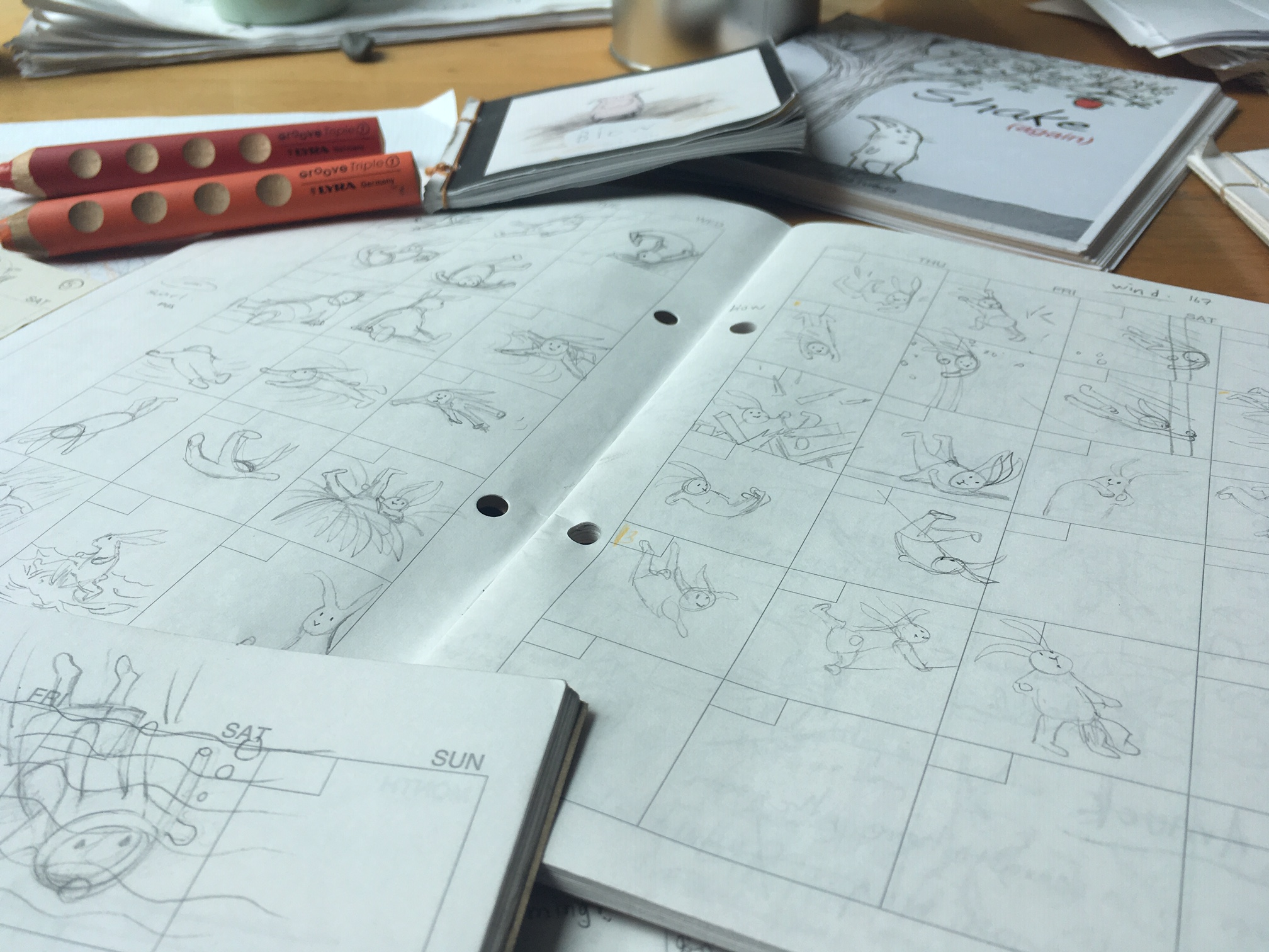 It all begins with a storyboard.